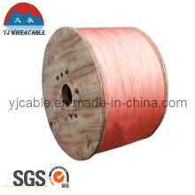 SGS Zertifikat Hochleitfähigkeit Kupfer verkleidet Stahl Draht CCS Draht