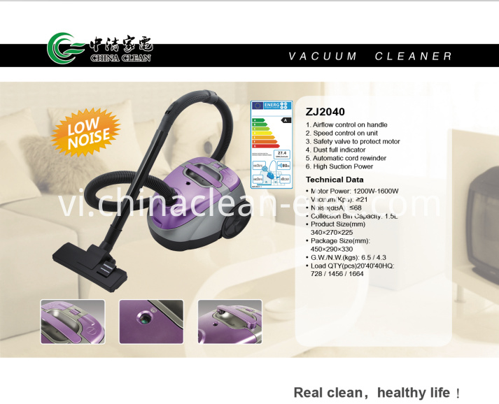 quiet Vacuum Cleaners