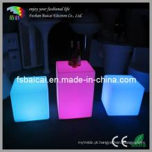 A tabela do cubo do diodo emissor de luz e a cadeira ajustaram-se (BCR-161C, BCR-114C)