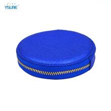 Классический женский молния кошелек круглый кожаный кошелек для монет