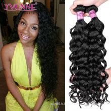 Cheveux 100% naturels de cheveux vierges péruviens italiens bouclés