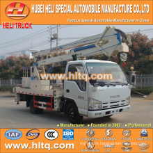 Japan technology 4*2 14m 16m aerial truck with basket single cab14M good quality hot sale