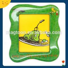 Custom cute souvenir epoxy magnetic photo frames