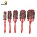 Haarstylingkämme und runde Haarbürste aus Keramik