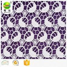 bordado de tela de encaje solo para prendas de mujer