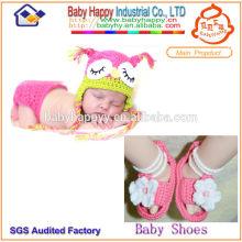 Schöne Sommerhäkelarbeit Anzug für Baby Girl Infant & Kleinkinder