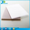 Hochwertiger UV-Schutz 8mm Gewicht Polycarbonat-Doppelwandblech