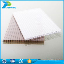 UV protected reinforced soundproof 10mm lexan honeycomb polycarbonate sound barrier sheet