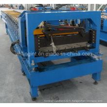 Machine de formage de rouleaux de tuiles en tôle d'acier