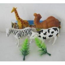 Животные ПВХ играть набор игрушки