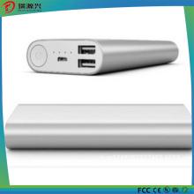 Banco portátil do poder 10400mAh com exposição elétrica da quantidade do diodo emissor de luz