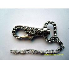 Chine fournisseur en gros Accessoires clés Snap Hook and Metal Keychain