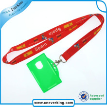 Sublimation Custom Card Card Holder Lanyard