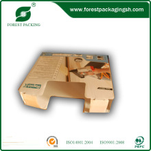 White Ivory Board Display Box for Machine with Handle