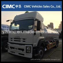 Camion à huile / camion citerne Isuzu Vc46 6X4 350HP 20m3