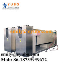 Electroplating tank for rotogravure cylinder making machinery pre-press gravure