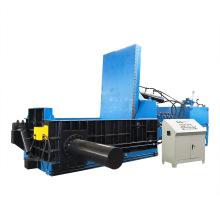 Máquina de embalagem de aparas de metal de alumínio e aço hidráulico