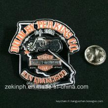 Badge commémoratif fait sur commande de cycle de moteur