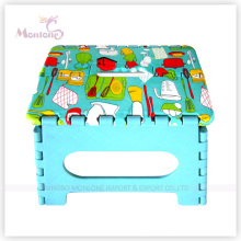 Plastic Foldable Stool with Sublimation Printing Logo