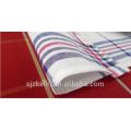Serviettes de table à rayures en coton 100% coton teint en Chine