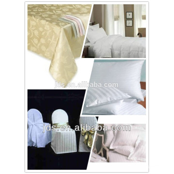 Polyester/cotton jacquard fabric
