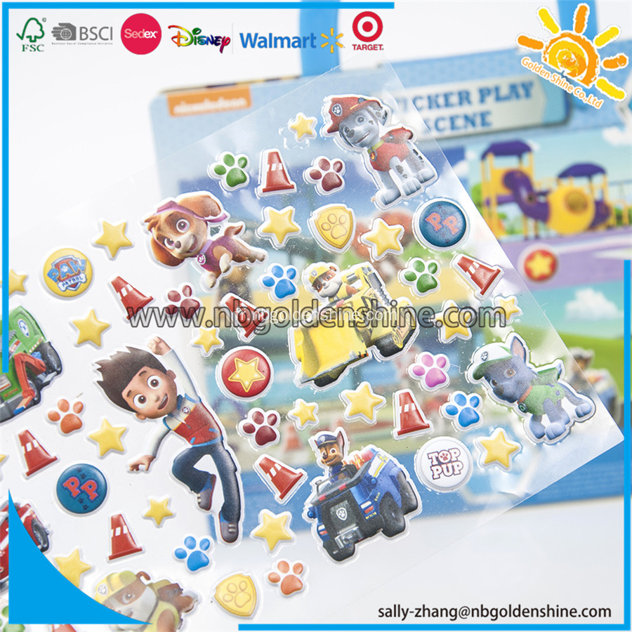 Paw Patrol Take-Along Sticker Play Scène