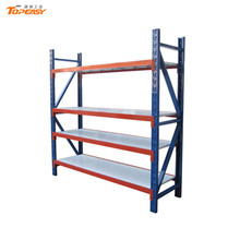 magasin de l'entrepôt en acier devoir rack ange stockage étagères