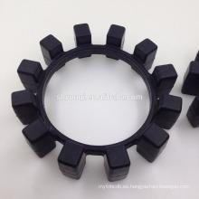 Cojín de esquina de sellado amortiguador elastómero de caucho elástico anillo de transmisión de amortiguación de choque