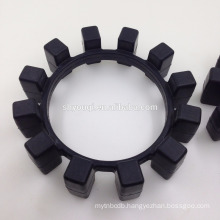 corner coupler sealing cushion elastomer rubber elastic ring transmission shock absorption