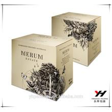 2016 custom logo new design perfume luxury packaging paper box