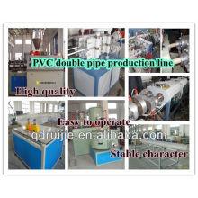 16-63mm PVC twin pipe machine