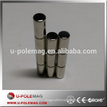WholeSale Powerful Mini N35 Strong Rare Earth NdFeB Cylinder Magnet