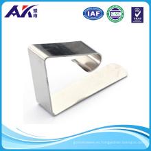 Clip de paño de mesa de acero inoxidable (sujetadores no estándar)