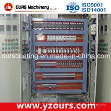 Sistema de controle elétrico avançado para linha de revestimento em pó
