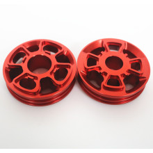 Kundenspezifische Ersatzteile Fahrradteile aus eloxiertem Aluminium