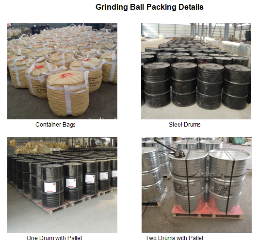 Grinding Ball Packing Details