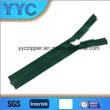 Open End Dynamic Teeth Plastic Zipper