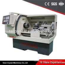 semi-automatic cnc lathe machine with steady rest CK6136A-1