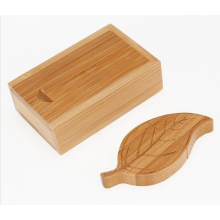 Creative gifts Wood Bamboo  2.0 USB Flash Drives Leaf shape USB Memory Stick