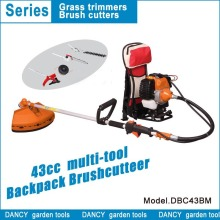 Backpack brush cutter 4 in 1 DBC43BM