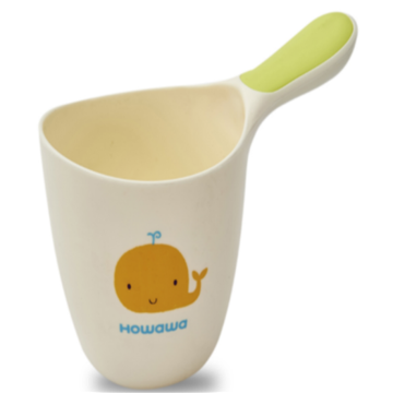 Safe Cute Baby Bath Spoon Rinse Cup