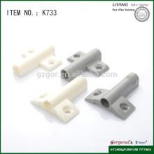 Venta al por mayor k733 tapa de la puerta del gabinete de plástico utilizado para el gabinete
