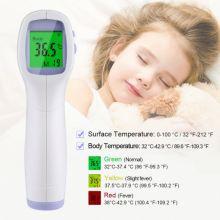 Berührungsloses Ohr-LCD-Display-Stirn-Infrarot-Thermometer