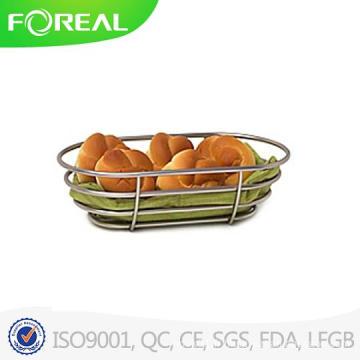 Panier de pain en métal en métal