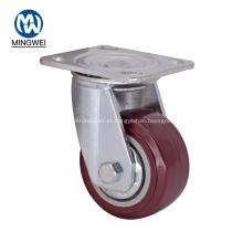Rodízios industriais da roda do giro de 4 polegadas