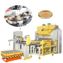 CNC Tinplate Sheet Feeding SKO cap making line