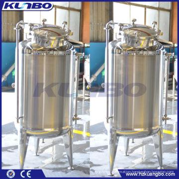500L Insulated water storage tank, jacket stoaget tank