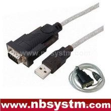 USB a RS232 DB Cable de cable serial COM de 9 pines