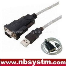 USB to RS232 DB 9 Pin Serial COM Cable Lead
