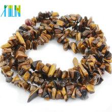 Tiger Eye Nuggets Joyas de piedras preciosas Natural Chips Stone Beads